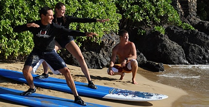 Surfing Lessons Maui